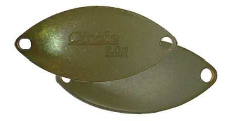 Esche-metalliche-ondulante-spoon-valkein-circle-no-58-jewle-olive-lure-fishing-planet.