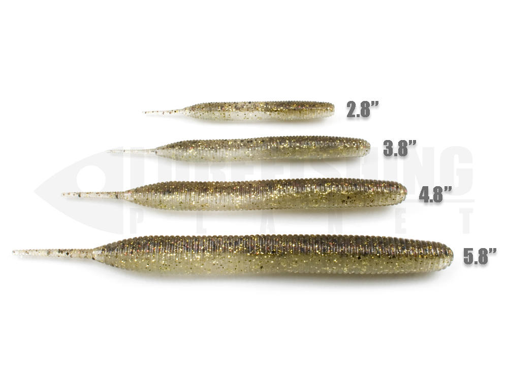 Esche siliconiche soft baits stick jerk keitech sexy impact lure fishing planet.