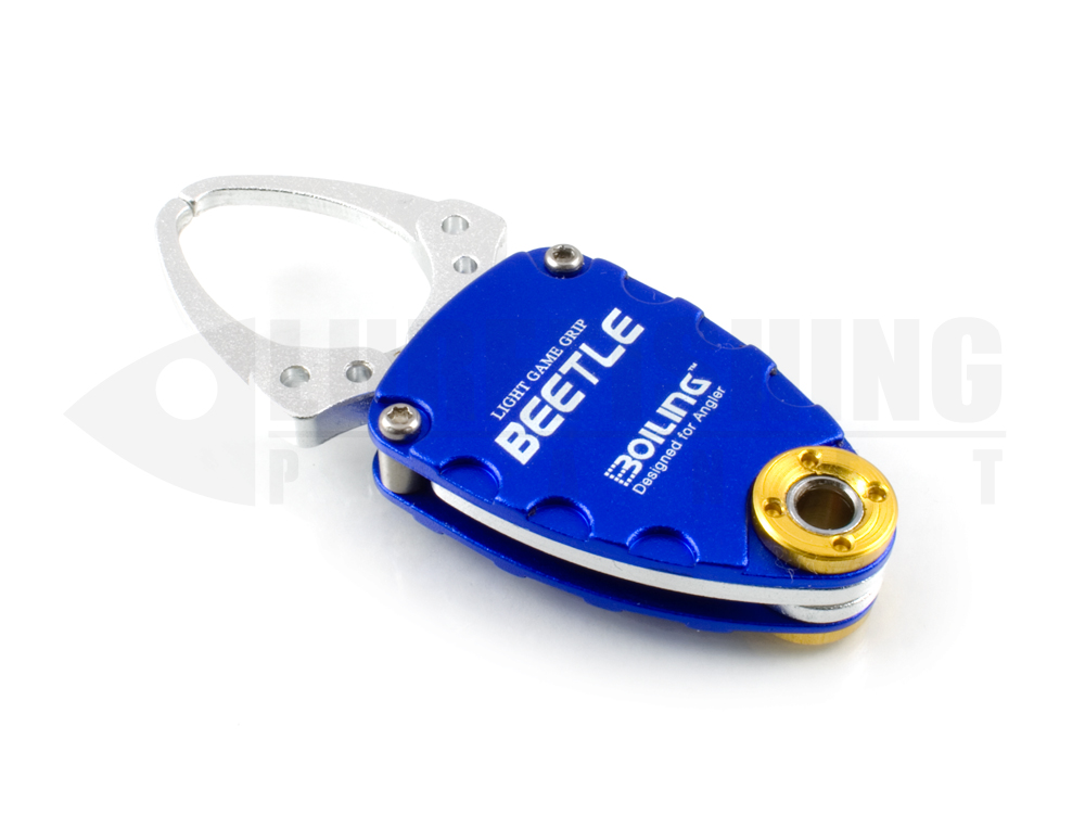 Accessori boga grip boiling light game grip beetle blue lure fishing planet.