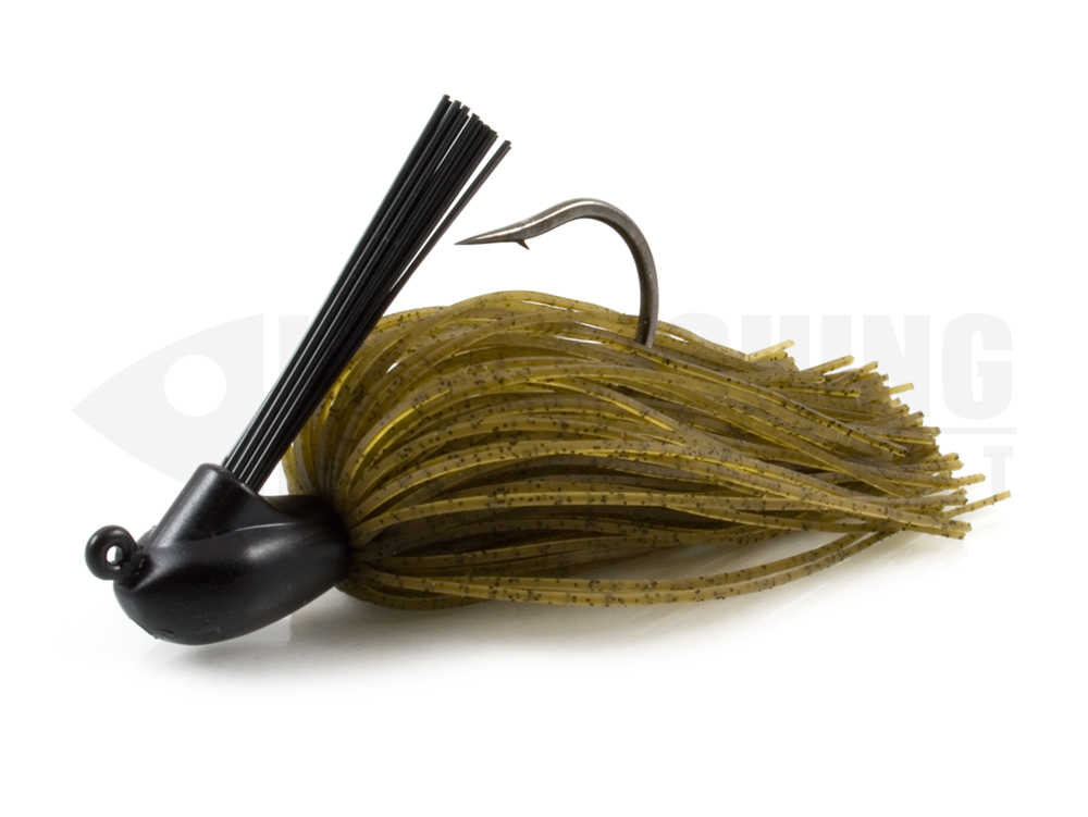 Casting cover silicon jig keitech model 1 one jig 101 green pumpkin pepper pp lure fishing planet.
